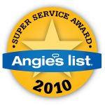 Angie's List – Super Service Award 2010