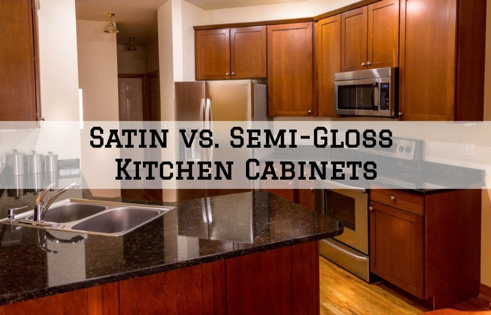 Satin vs. Semi-Gloss Kitchen Cabinets - JNG Painting ...